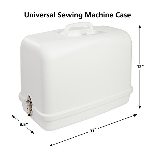 SINGER Sewing Machine 611.BR Universal Hard Carrying Case for Most Free-Arm Portable Sewing Machines - FitsByDesign