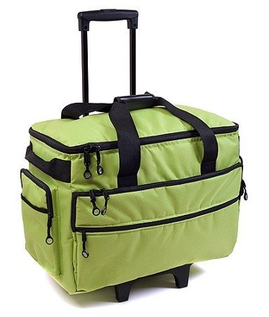 Bluefig 3 Piece Sewing Machine Trolley Set in Lime Green - FitsByDesign