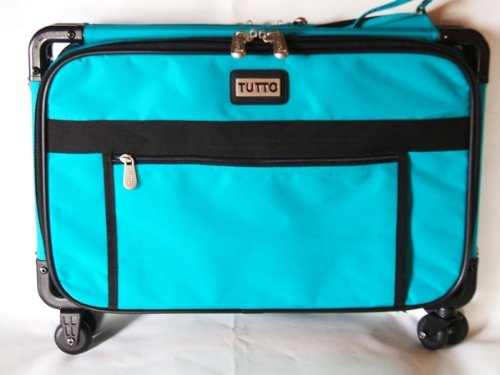 "Mascot Metropolitan 5222TMA-L Tutto Machine Case On Wheels, Large/22"", Turquoise - FitsByDesign"