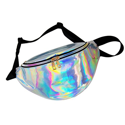 Waterproof Holographic Fanny Pack - FitsByDesign