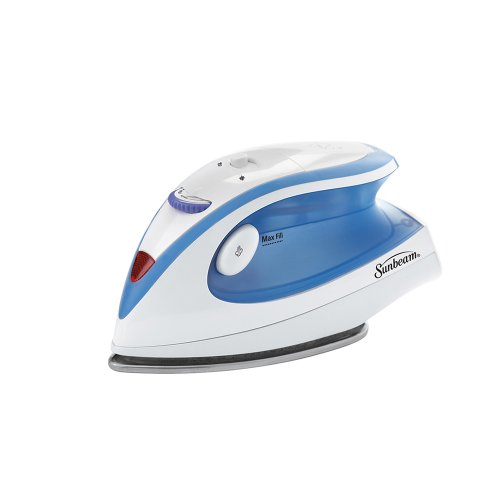 Sunbeam Hot-2-Trot 800 Watt Compact Non-Stick Soleplate Travel Iron,  GCSBTR-100-000 - FitsByDesign
