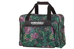 Floral Sewing Machine Carrying Case - Carry Tote/Bag Universal - FitsByDesign