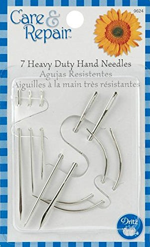Dritz Assorted Heavy Duty Hand Needles, 7-Pack - FitsByDesign