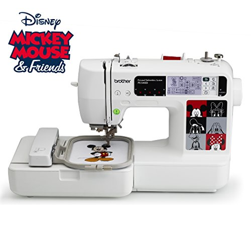 Brother PE540D 4x4 Embroidery Machine with 35 Disney Designs & more - FitsByDesign
