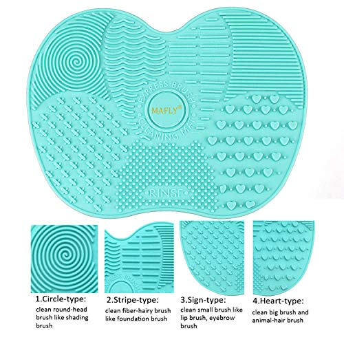 Silicone Makeup Brush Cleaning Mat - FitsByDesign