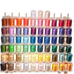 63 Brother Colors Embroidery Machine Thread - FitsByDesign