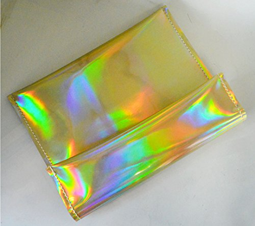 Monique Women Colorful Holographic Mini Clutch Bag - FitsByDesign