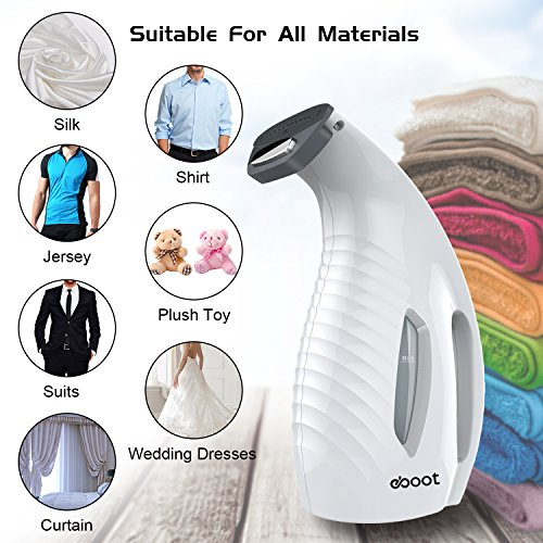 eBoot Clothes Garment Handheld Fabric Wrinkle Steamer - FitsByDesign