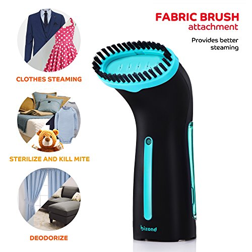 BIZOND Mini Clothes Steamer for Garments, Fabric, and Draperies - FitsByDesign