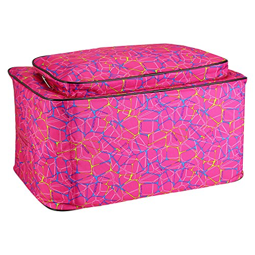 Meditool Universal Sewing Machine Carrying Case Tote Bag - Rose Red - FitsByDesign