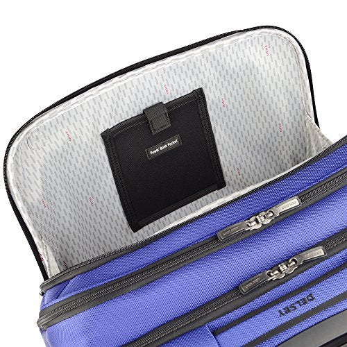Delsey Luggage Cruise Lite Softside Spinner Trolley Tote, Blue - FitsByDesign