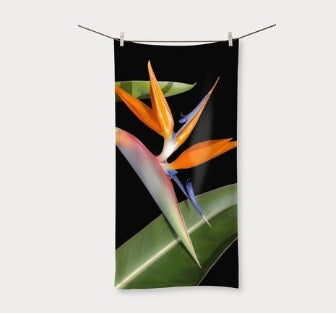 Delores Beach Towel - Havana Nights - FitsByDesign