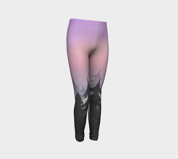 Cosmic Trees Youth Leggings