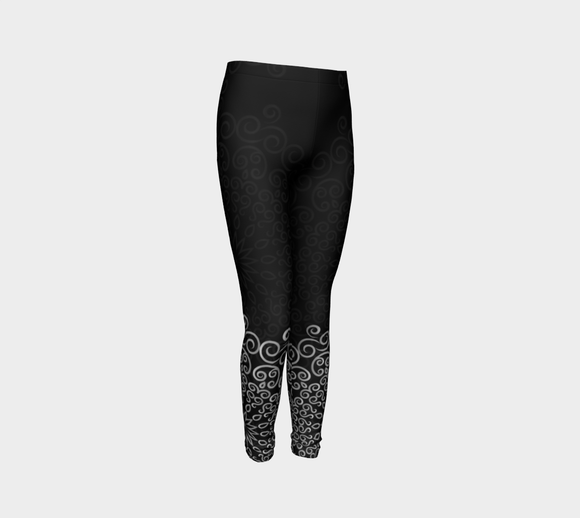 Shanti (Black) Youth Leggings