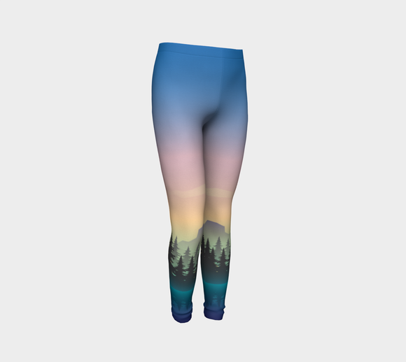 Sunset Paddle Youth Leggings