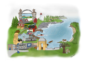 Louisbourg Illustrations