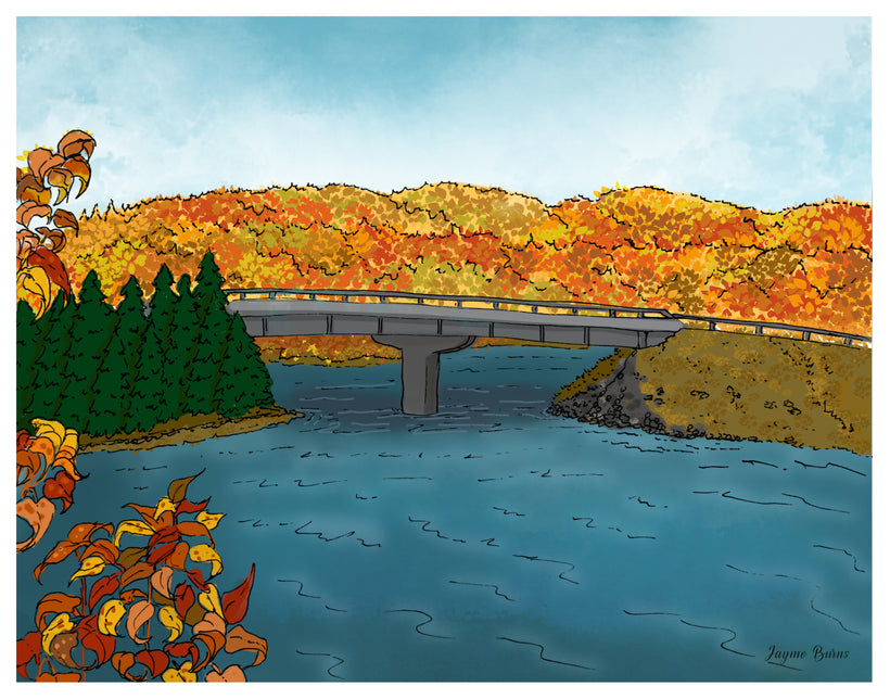 Cape Breton Illustrations