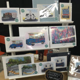 Craft fair print display