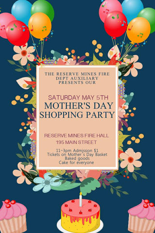 Mother's Day Shopping Party