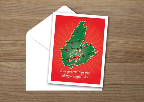Cape Breton Island Christmas Card