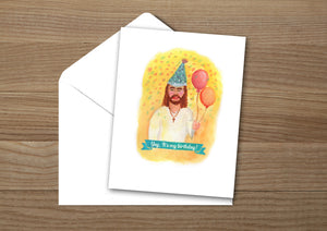 Happy Birthday Jesus Christmas Card