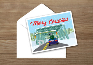 Canso Causeway Day Greeting Card