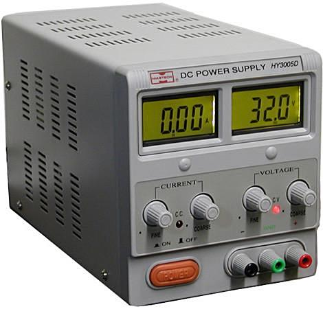 0~30VDC @ 0~5A DC Regulated Switching Power Supply (Dual Adjustable); Part # APS-305D