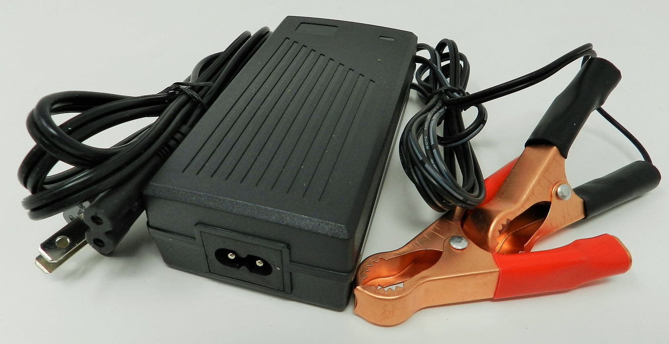 Floating-Smart Charger 12VDC @ 2500mA; Alligator Clips; Part # FC-12250