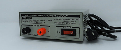 13.8VDC @ 10A DC Regulated Switching Power Supply; Part # RSP-1012T