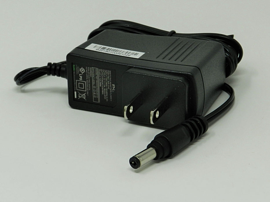 AC-DC Switching Regulated Power Supply 3VDC @ 1500mA; 2.1 x 5.5mm (+) center polarity; Part # SW-31G