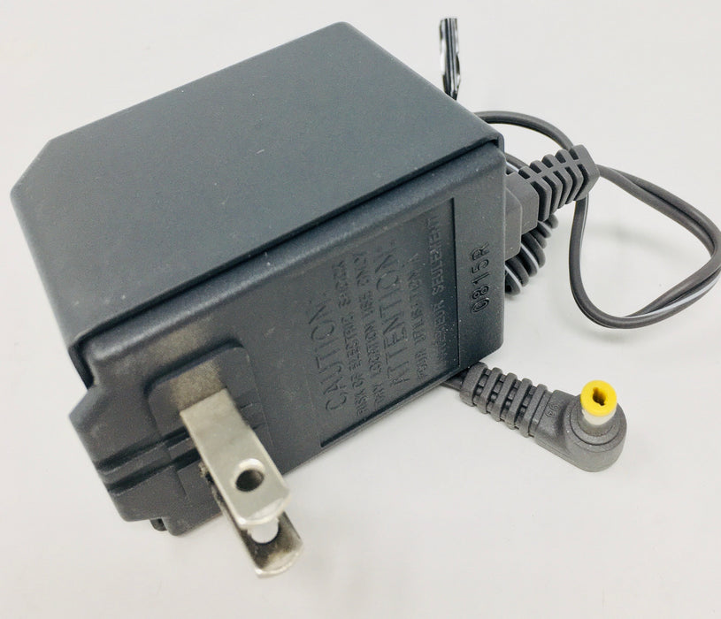 AC-DC Linear Power Supply 6VDC @ 350mA; 1.7 x 4.7mm (+) center polarity; Part # PV-6350G