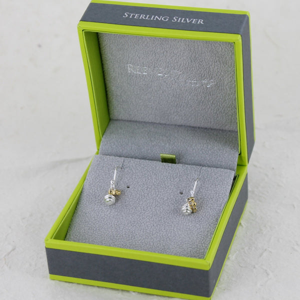 Sterling Silver Honey Pot Earrings