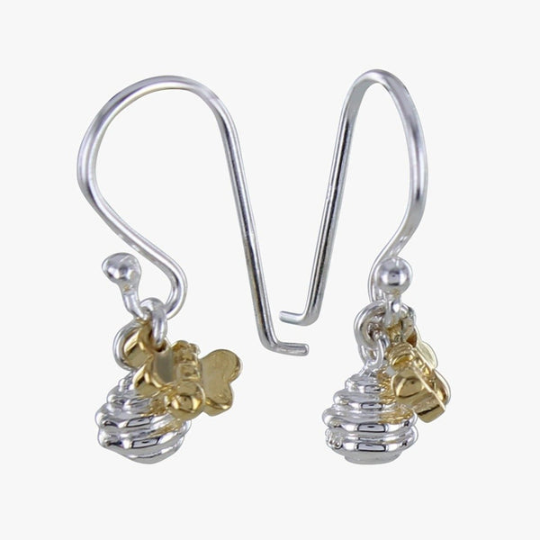 Honey Pot Sterling Silver Earrings