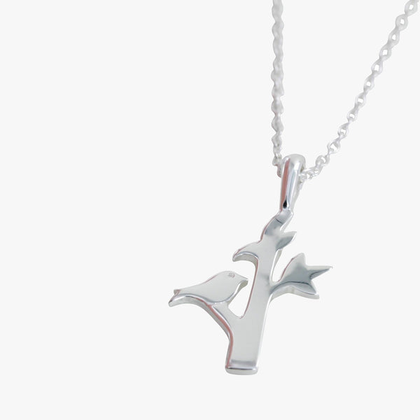 Bird In Tree Pendant