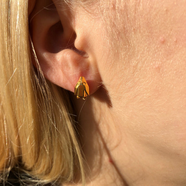 Origami Penguin Earrings