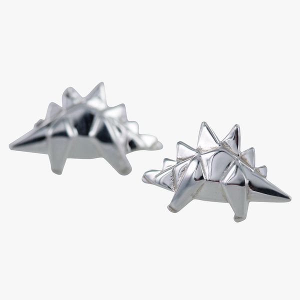 Origami Stegosaurus Earrings