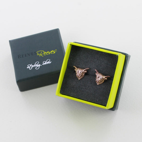 Highland Cow Stud earrings