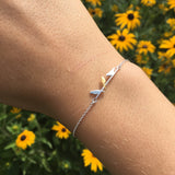Bird On Wire Bracelet