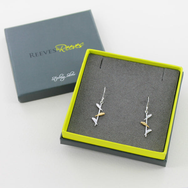 Bird On Wire Earrings