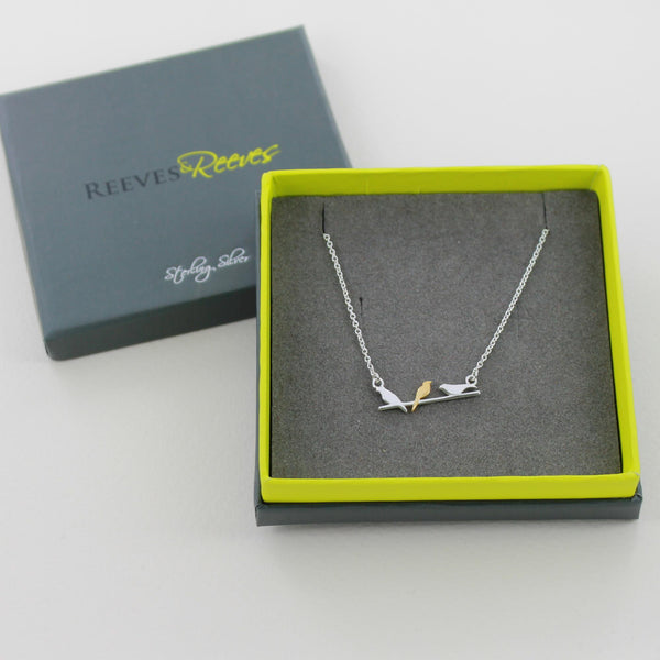Bird On A Wire Necklace