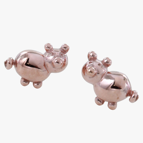 Balloon Pig Stud Earrings