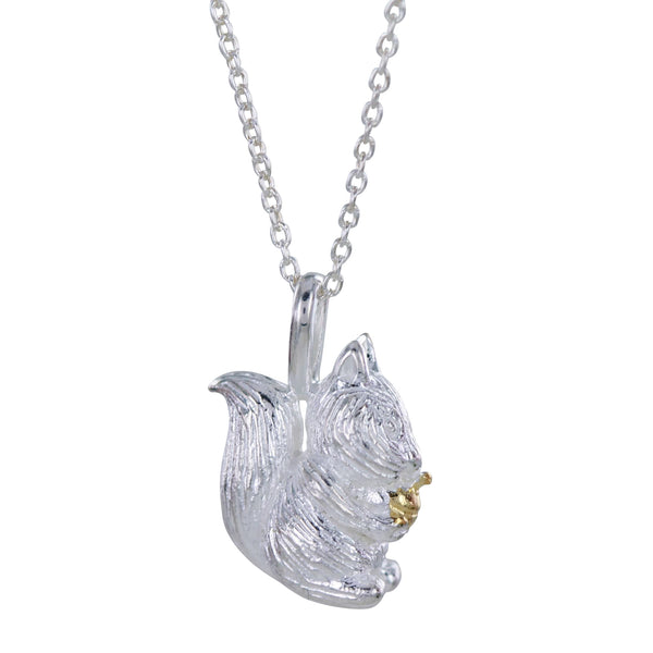 Squirrel Nutkin Necklace