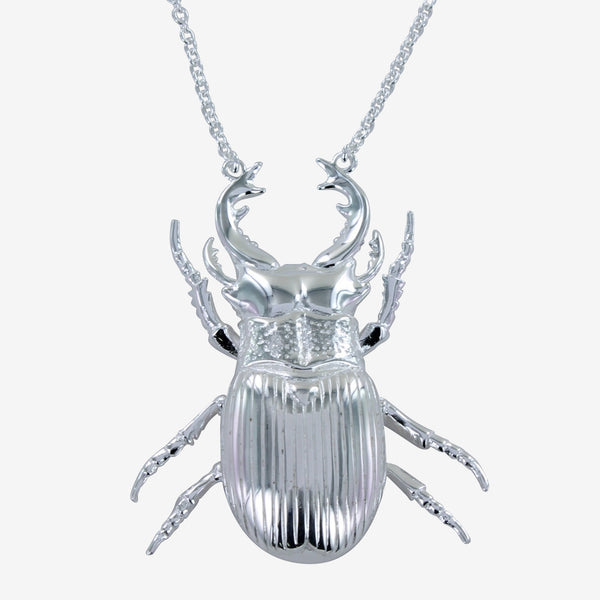Stag Beetle Necklace