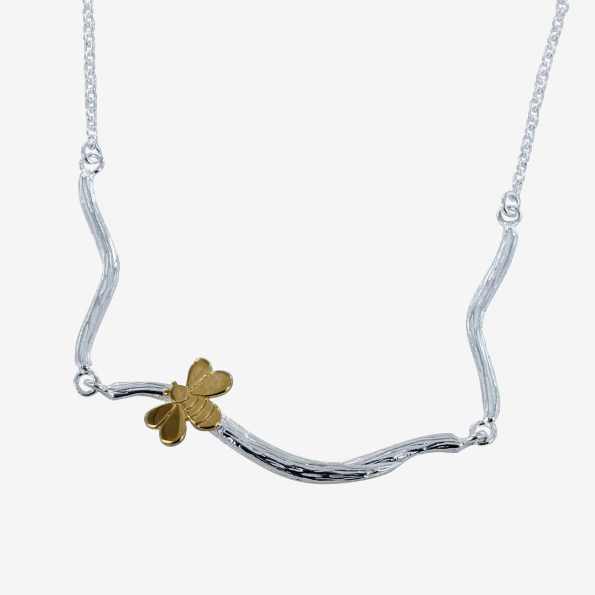 Bee in a Tree necklace