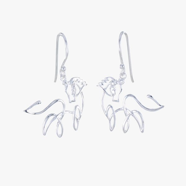 Horse Line Earrings