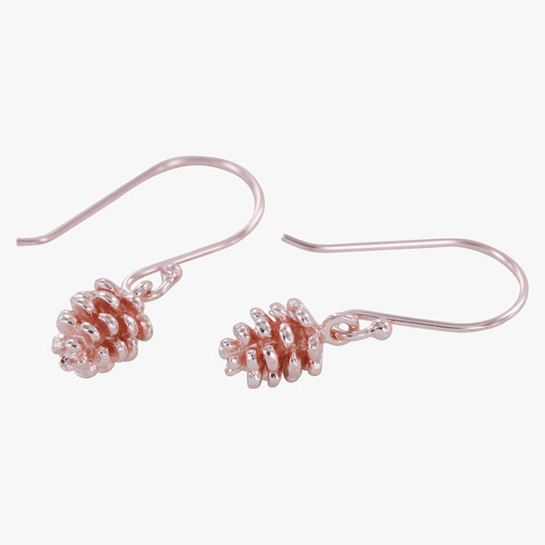 Reeves & Reeves Fir Cone Earrings