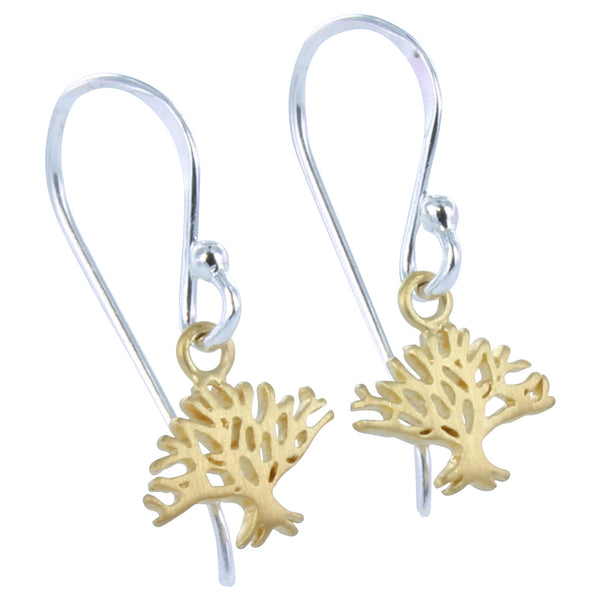 Winter Tree Earrings