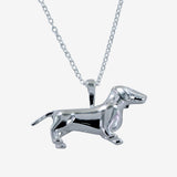 Dachshund Necklace 3D