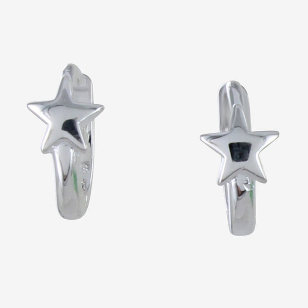 Star Sleeper Earrings Silver