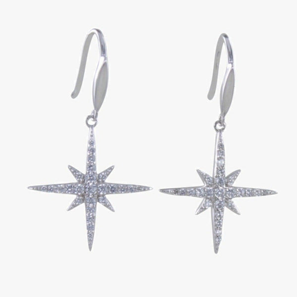 Follow that Star Pavé Earrings